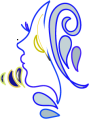 Fidan Gypsy Woman logo design